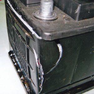 ремонт корпуса аккумулятора