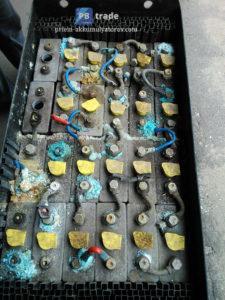 отработанные аккумуляторы